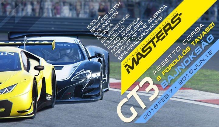 GTR-Masters - GT3 szimulátor bajnokság
