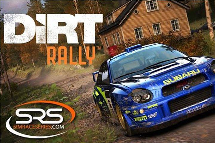 Dirt Rally 2016 tavaszi bajnokság a Sim Race Series szervezésében