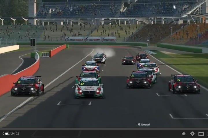 WTCC Hockenheim - szimulátor autóverseny