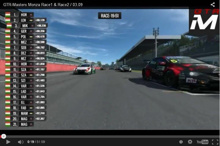 Szimulátor autóserseny - WTCC - Monza - Raceroom