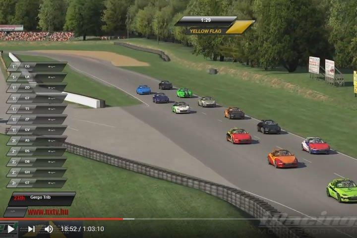Mazda MX-5 Rookie Cup – Summit Point Raceway verseny videó (iracers)