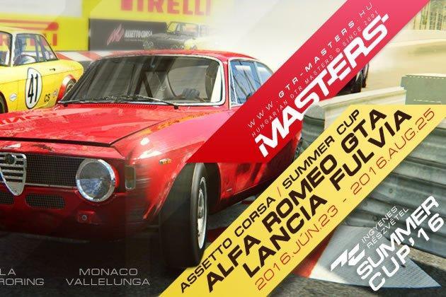 Historic Summer Cup - szimulátor autóverseny-featured