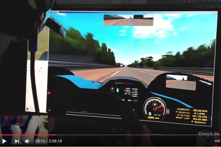 Le Mans (Circuit de la Sarthe) – PSRL endurance verseny Toldi Balázzsal