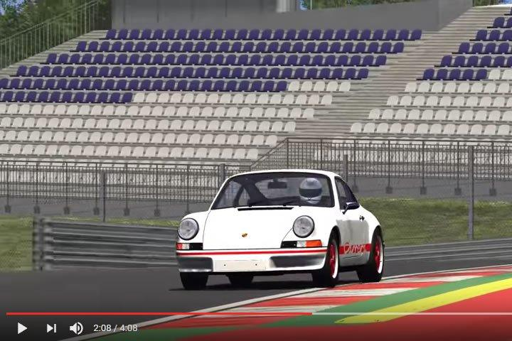 Szimulátor versenyzés - Porsche 911 - Red Bull Ring