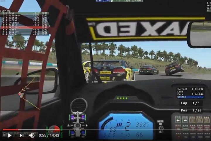 rFactor2 – Chevrolet Cruze-okkal Malaysia-ban (Sepang)