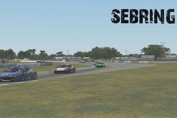 rFactor2 - Sebring - Renault Megane Cup