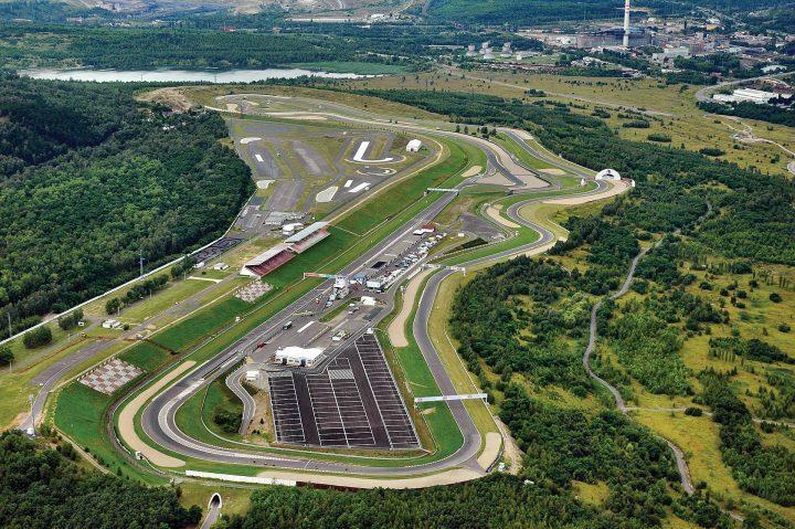 Assetto Corsa - Autodrom Most - pályakép