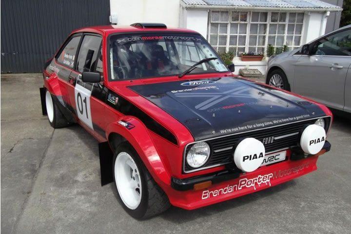 Dirt Rally - Finn, Naarajärvii - Ford Escort MKII