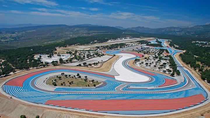 Raceroom - Paul Ricard - pályakép