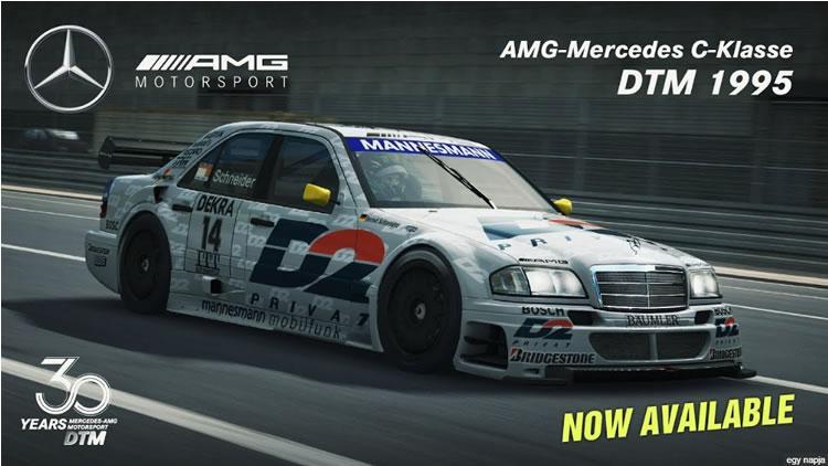 Raceroom - AMG Mercedes Cklasse DTM 1995