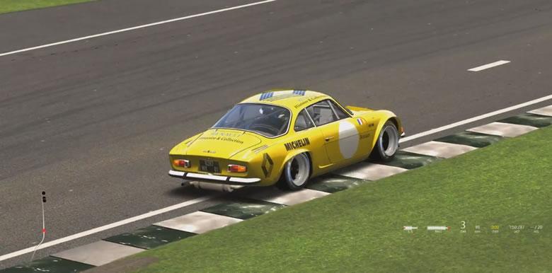 Assetto Corsa - Goodwood - Renault Alpine A110 - post