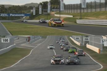 Raceroom – WTCR rizskályha teszt – Honda Civic TCR és Hyundai i30 TCR