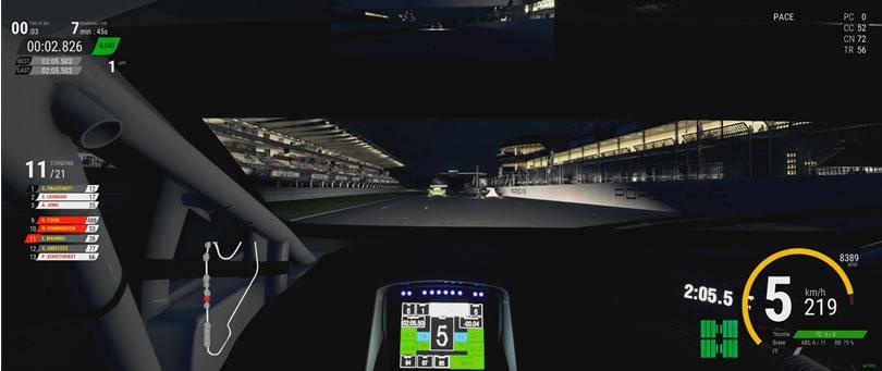 Assetto Corsa Competizione - Nürburgring - Lamborghini Huracan GT3 - night post