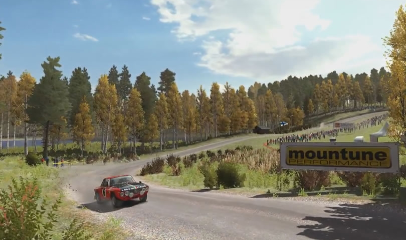 Dirt Rally - Finn Rally - Pasturi - Lancia Fulvia - featured
