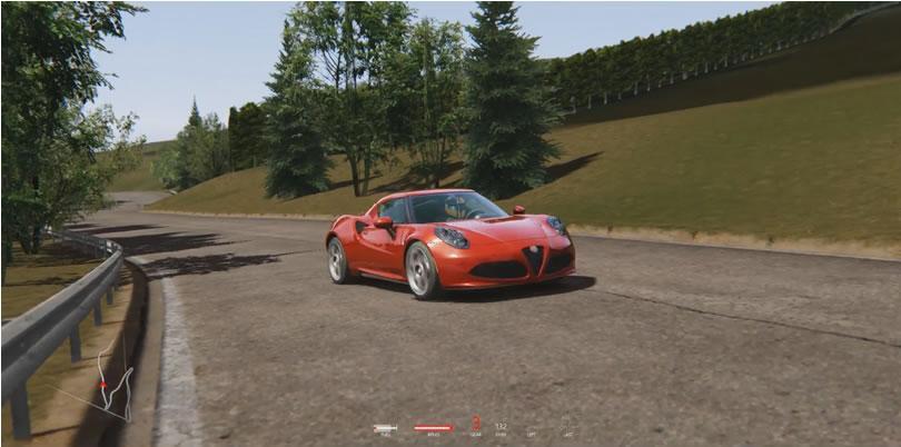 Assetto Corsa - Cesana Sestriere - Alfa Romeo 4C - featured