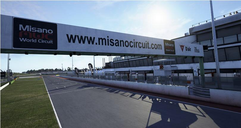 Assetto Corsa Competizione - MIsano GP Circuit