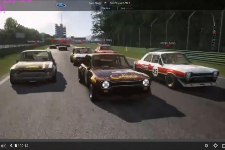 Historic - Imola szimulátor autóverseny