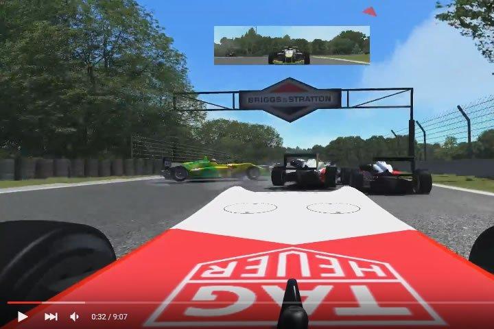 Formula 3 - Road America - szimulátor autóverseny