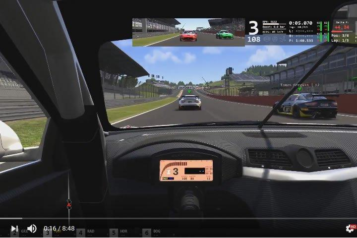 Szimulátor versenyzés - Maserati GT4 - Red Bull Ring