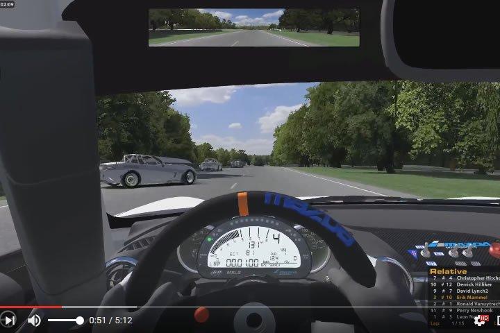 Szimulátor versenyzés - iracing - Mazda MX5 - Summit Point Raceway
