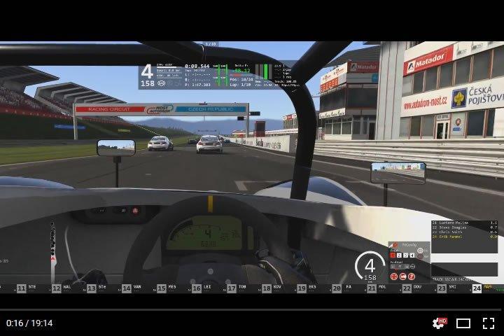 Assetto Corsa - Autodrom Most - Lotus 2 Eleven GT4