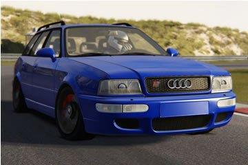 Assetto Corsa add-on autó bemutató – Audi RS2 Avant a Hungaroringen
