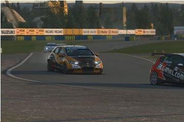 Raceroom Experience - svéd naplemente Karlskoga-ban Norbi Honda-jával