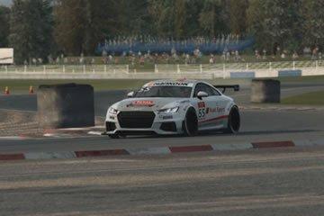 Raceroom Experience - tesztkör Mantorp Park-ban egy Audi TT Cup-al