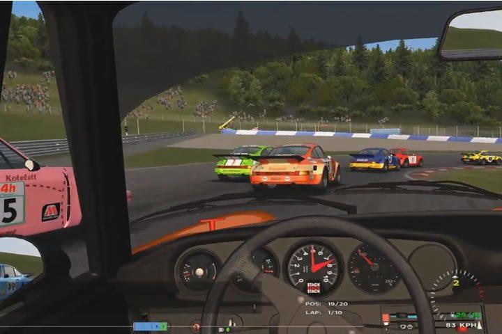 Automobilista - Retro Porsche 911 RSR verseny a Red Bull Ring-en