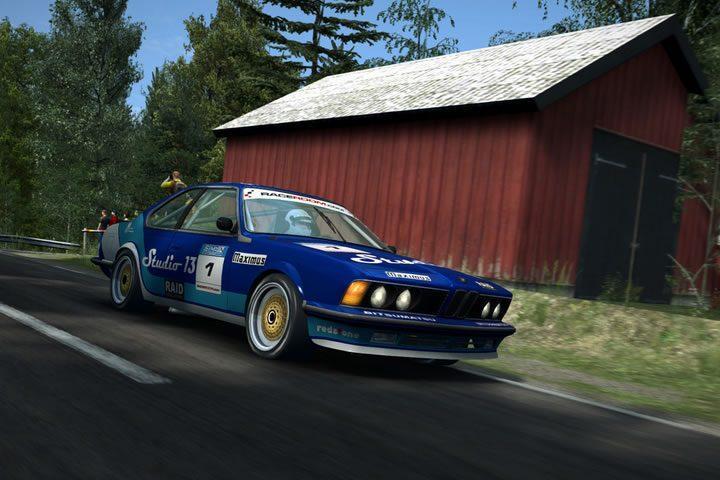 Raceroom - BMW 635 CSI és más túraautó legendák versenye