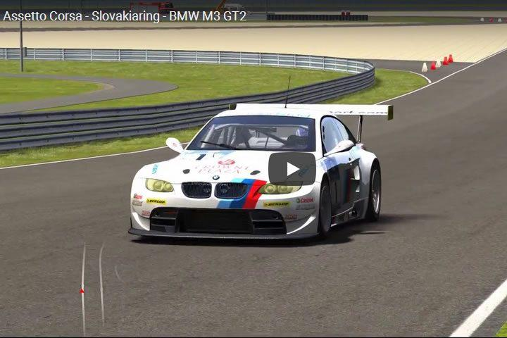 Assetto Corsa - Slovakiaring - BMW M3 GT2