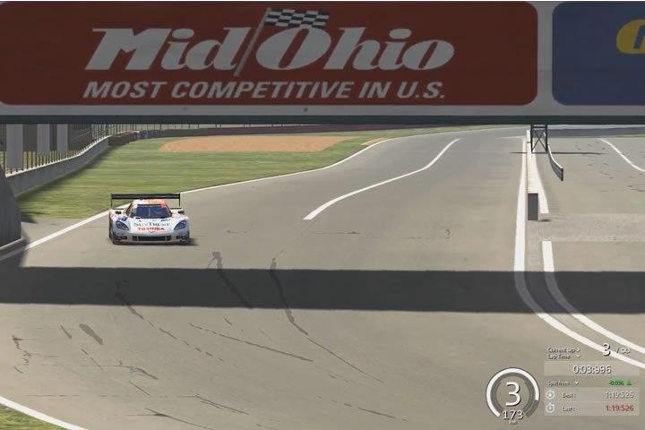 Assetto Corsa add-on autó bemutató – Chevrolet Corvette DP teszt Mid-Ohio-ban