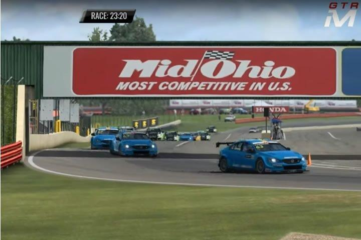 Raceroom - WTCC 2017 futam Mid-Ohio-ban  (GTR Masters)