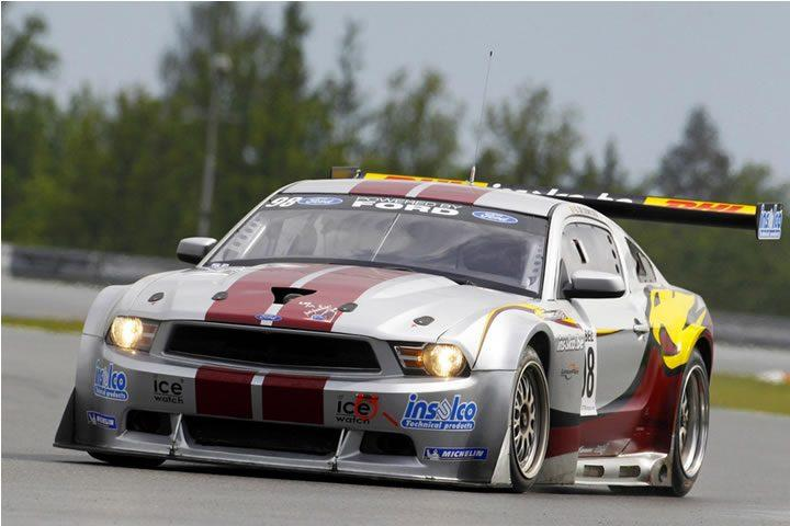 Raceroom - bemelegítő verseny egy Ford Mustang GTR3-al Zolder-ben