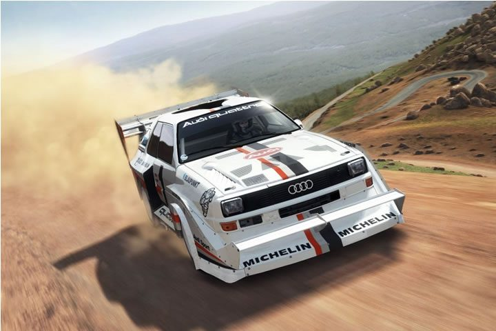 Dirt Rally - Pikes Peak stage 1 - Audi Quattro featured