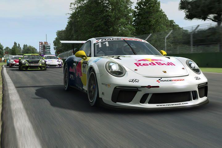 Raceroom - Porsche 911 GT3 Cup tesztverseny a Paul Ricard pályán