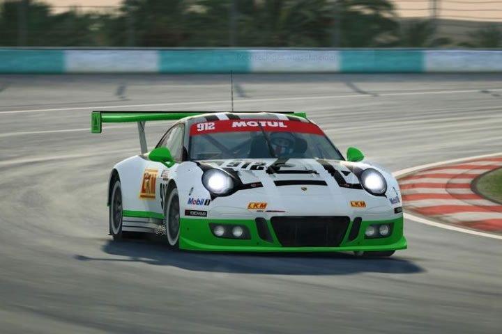 Raceroom  - Porsche 911 GT3 R tesztverseny a holland Zandvoort-ban