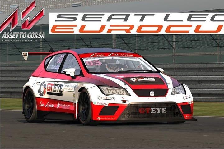 Assetto Corsa - Seat Leon Eurocup tesztverseny Laguna Seca-ban