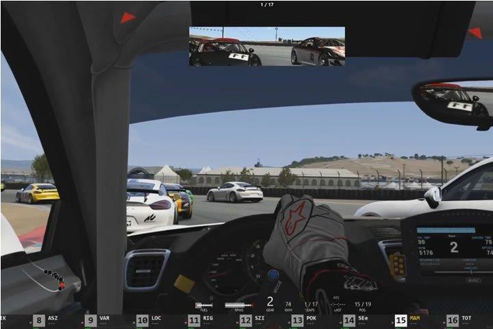 Assetto Corsa - Laguna Seca - Porsche Cayman Clubsport GT4