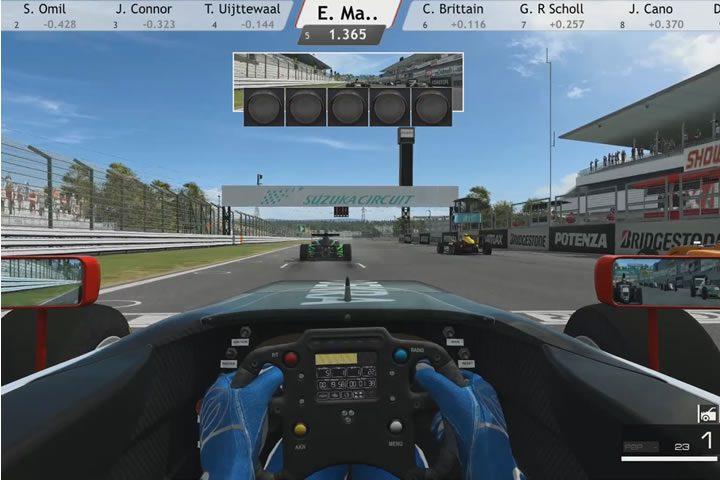 Raceroom - szoros befutó Suzuka-ban egy Formula 4-es versenyen (SRS)