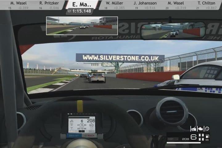 Raceroom - nagy küzdés egy Audi TT RS VLN-el Silverstone-ban