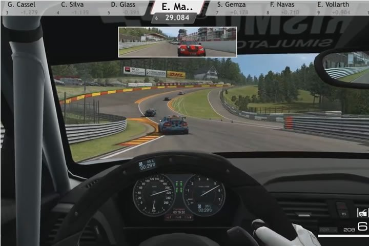 Raceroom - BMW M235i kupa verseny Spa-Francorchamps-ban (SRS)