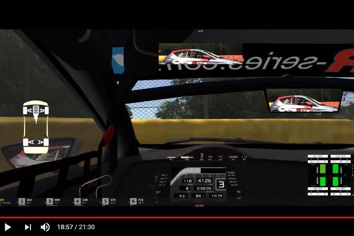 Assetto Corsa – Seat Leon TCR verseny Spa-Francorchamps-ban (SRS)