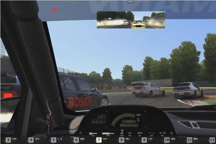 Assetto Corsa - klasszikus DTM verseny Monza-ban egy Alfa 155-el (SRS)