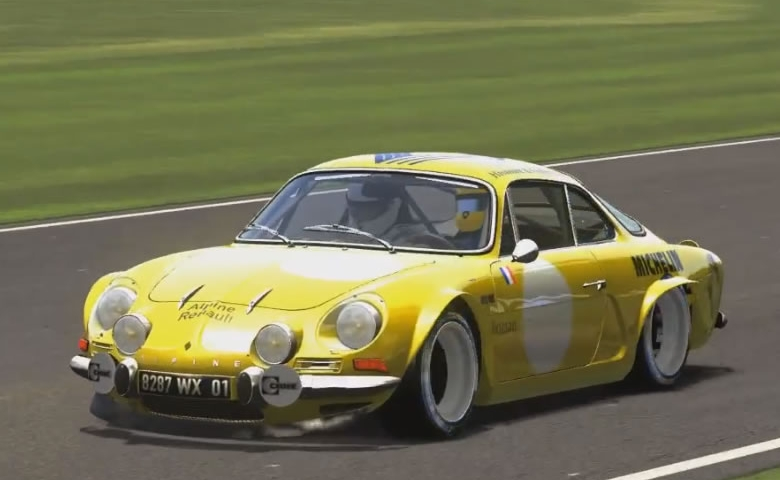 Assetto Corsa - Goodwood - Renault Alpine A110