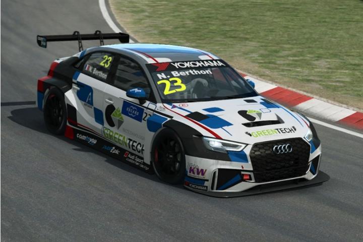Raceroom - WTCR dupla verseny Zandvoort-ban egy Audi A3-assal