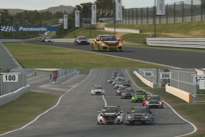 Raceroom - WTCR rizskályha teszt - Honda Civic TCR és Hyundai i30 TCR