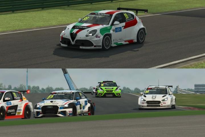 Raceroom -WTCR latin lover teszt - Alfa Romeo Giulietta és Seat Cupra TCR