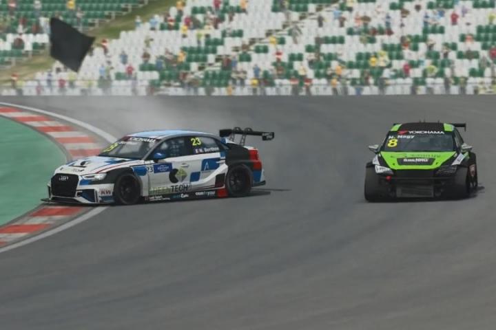 Raceroom - rövid ízelítő a Masters 2018. őszi első WTCR bajnoki futamából