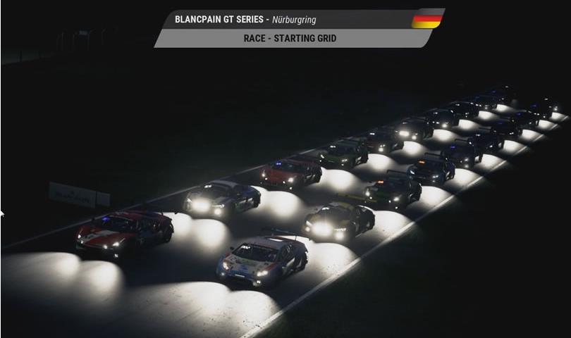 Assetto Corsa Competizione - Nürburgring - Lamborghini Huracan GT3 - night